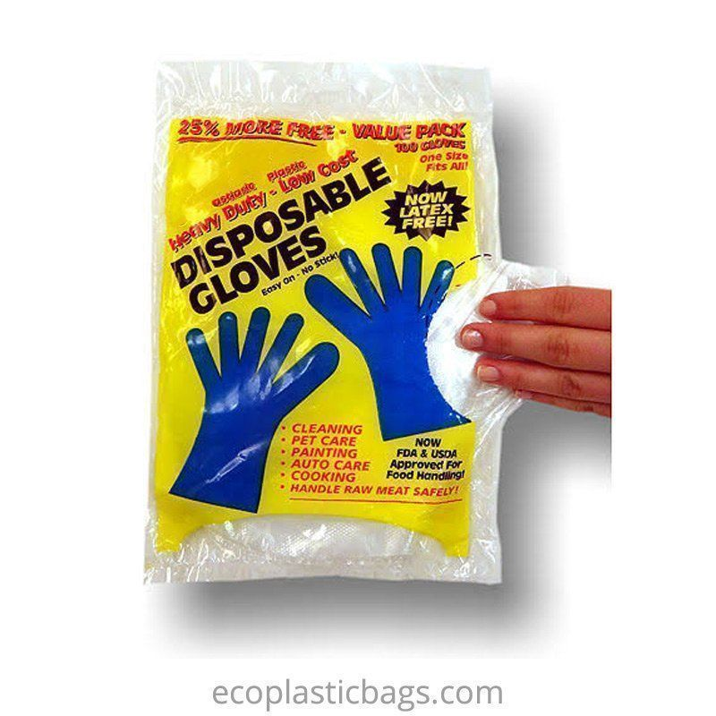 Food Contact ODM Plastic Gloves Hong Kong Supplier