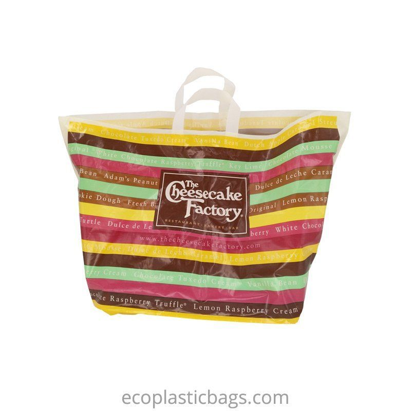 Soft Loop Shopping Carrier Bag