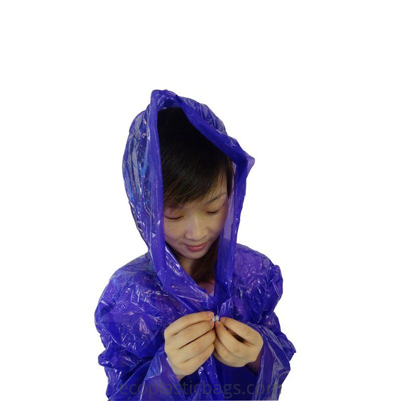 Bioplastic Raincoats