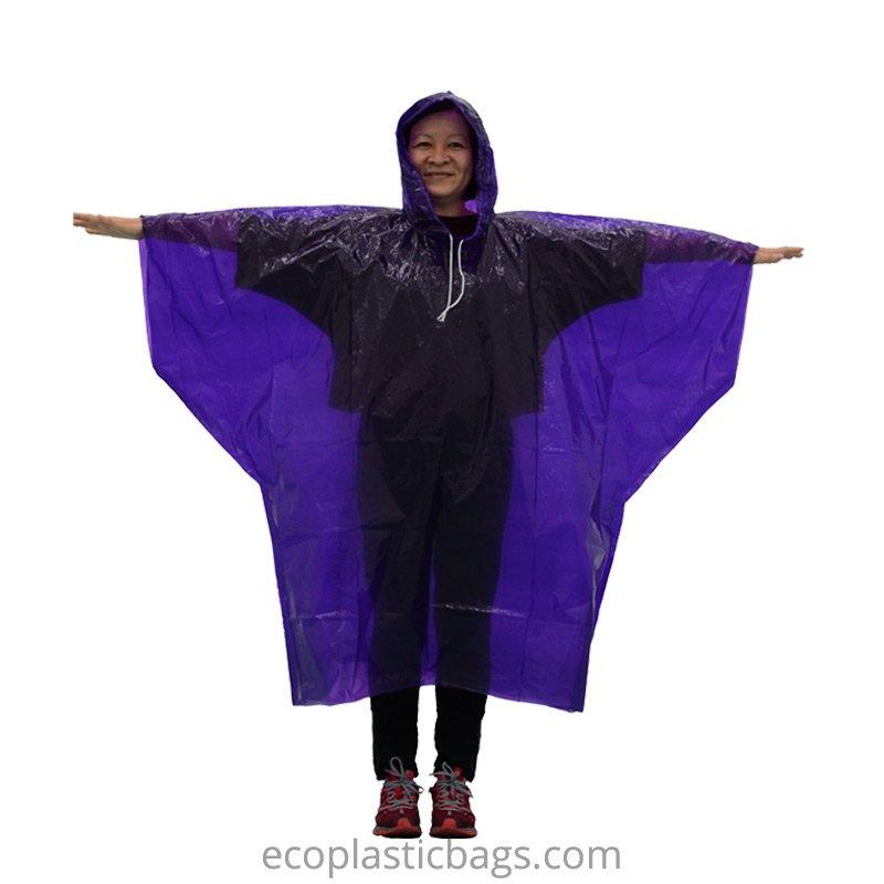 Bioplastic Rain Poncho