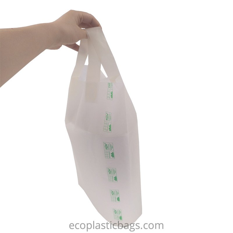compostable soft loop carrier bags