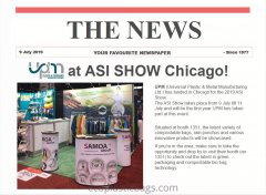 UPM at ASI SHOW Chicago !!!